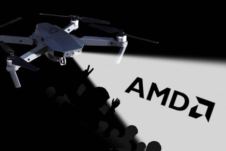 AMD股价今年已上涨85% 市值接近1000亿美元仍只英特尔一半