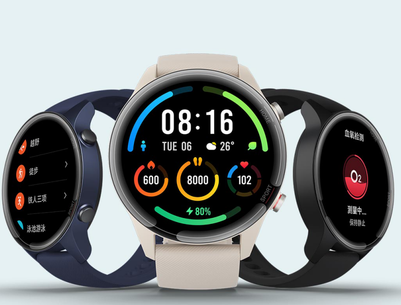 潮流设计再升级,小米手表Color运动版发布
