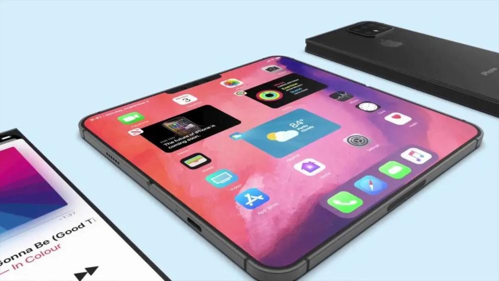 苹果:真香警告!我iPhone也要搞折叠屏