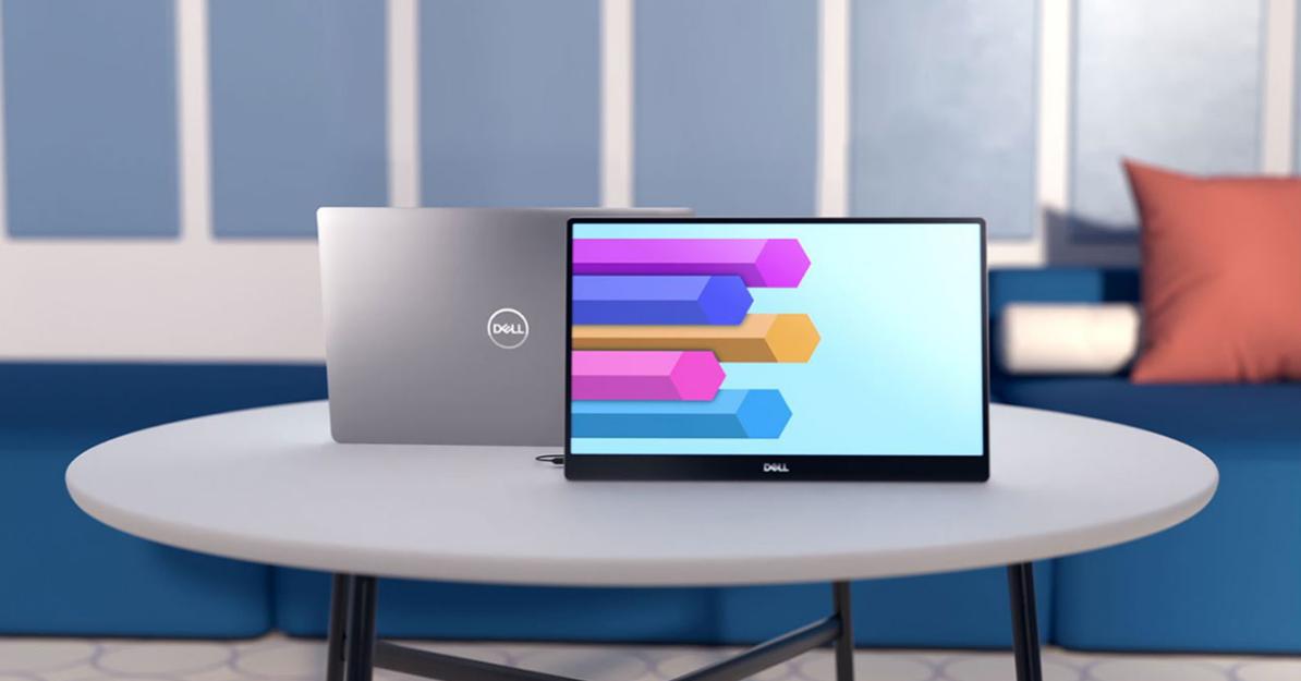 戴尔推出首款便携显示器 随时随地实现双屏生产力