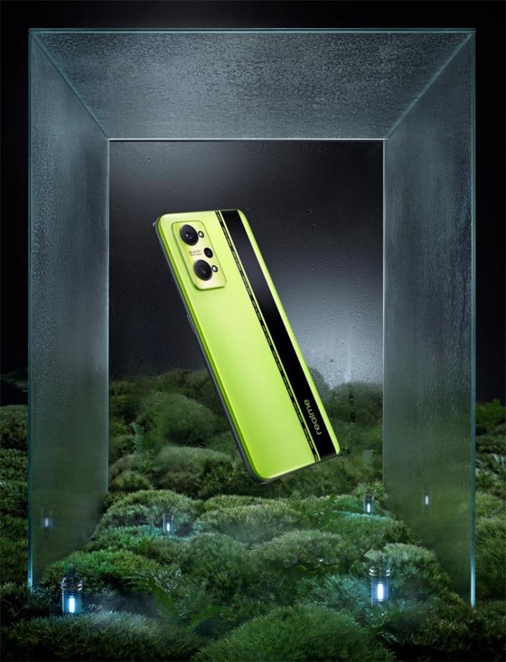 "realme真我GT Neo2亮相 首创机能美学""黑薄荷""设计"