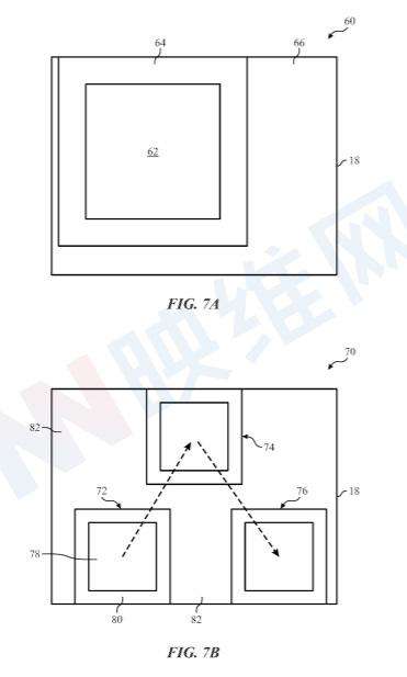 苹果专利介绍注视点显示器应对眼动追踪输入数据丢失的缓冲方法