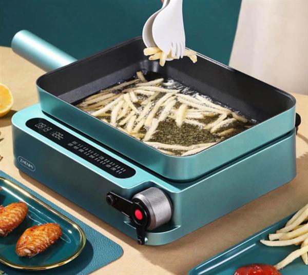 小米有品众筹远红外西厨机:无明火自加热 告别浓烟