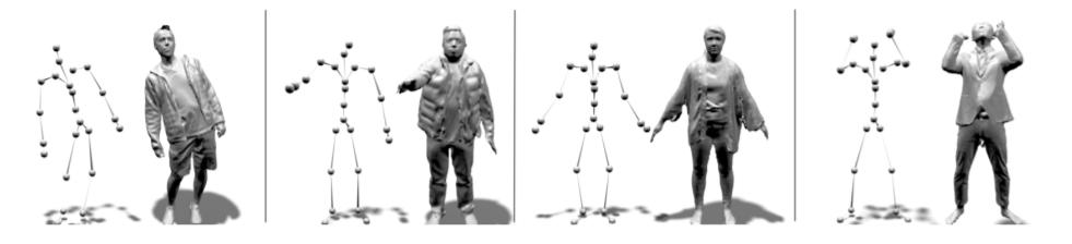 Facebook提出Neural-GIF模型,为AR/VR模拟复杂衣服穿着效果